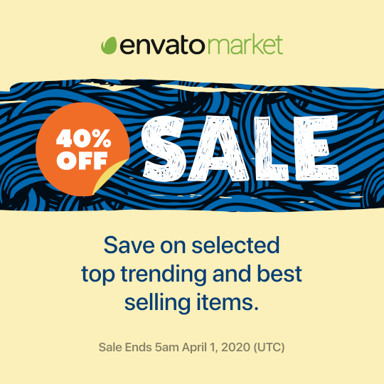 Envato March Sale