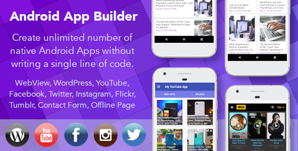 Featured Image of Android App Builder