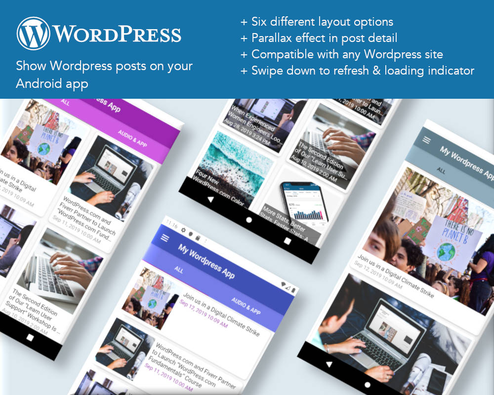 WordPress Section